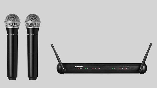 6. Mic Wireless Shure SVX