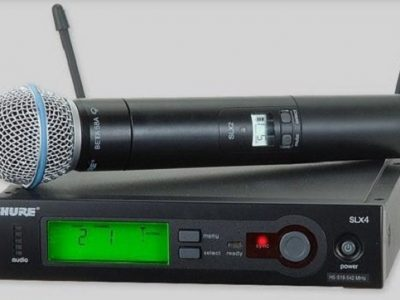 8. Mic Wireless Shure SLX Wireless